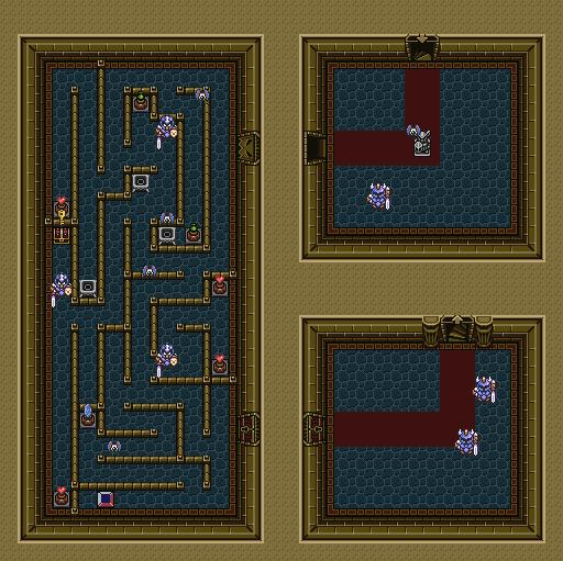 LEGEND OF ZELDA: A LINK TO THE PAST RANDOMIZER Dungeon ITEM